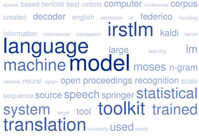 IRSTLM (IRST Language Modeling) Toolkit 2018 | Meta-Guide com